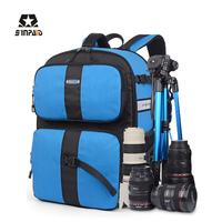 Best Selling Waterproof Camera Sinpaid Brand Designer DSLR Camera Backpack Professional Digital Camera Case Bag