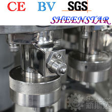 CE standard beverage can filling capping device