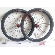 "20"" 38mm Depth Clincher Carbon BMX Wheels 406mm For BMX Bike"