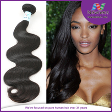 high quality virgin hair suppliers 100% human hair without mixing no split ends