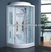 aluminum massage shower rooms with seat and mirror for bathroom