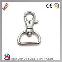 Hot Selling Alloy Swivel Metal Dog Snap Hook for Backbag Accessories
