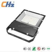 With philip chips and meanwell driver die cust aluminum lamp shell LED flood light