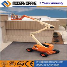 Telescopic hydraulic boom lift, Crank arm lift platform, one person lift