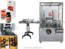 high speed Electronic cigarette liquid cartoning machine manufacture