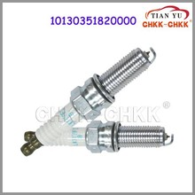 High quality last offer iridium&platinum spark plug IK16#4 IW16 spark plug OEM 10130351820000