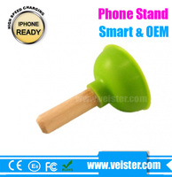 Colorful Mini Mobile Phone Stand in mobile holders Silicone Cell Phone Holder
