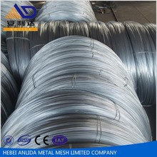 Top BWG8-BWG36 low price any size hot dipped galvanized steel wire