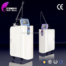 black\/blue\/red color best tattoo removal laser machine 1064 nm 532nm active q-switch removal q switch nd yag laser