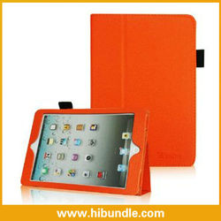 For Leather Ipad Case With Stand Holder And Strap