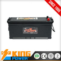 12V maintenance free DIN120MF car battery lead acid