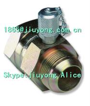 7/16 --20UNF JIC Male X Female (37degree cone sealing) Tee Test Ponit Adaptor