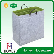 Most Popular Superior Quality Good Cost Performance Customised Felt Wholesale Laundry Bags In Bulk
