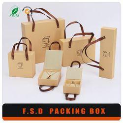 High Quality New Design Luxury Jewelry Custom Paper Gift Box