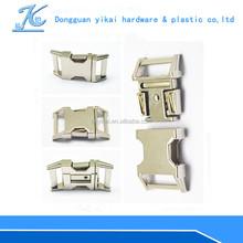 YIKAI hotsale metal strap buckle,side release buckle for handbag,adjustable metal buckle