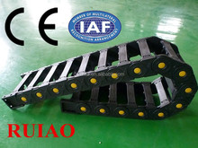 RUIAO long lifetime TEZ bridge plastic cable drag chain for cables supplier in hebei