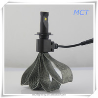 Made in China car accessiores led car light h4 h7 12v voltage motorcycle led lighting