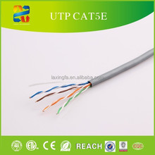 China cable manufacturer high quality 24awg 4 pairs ethernet cable lan cat5e utp cable for network