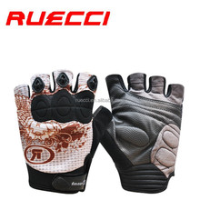 cycling breathable half finger gloves Neoprene knuckle protection