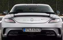 Black Series R197 Carbon Fiber Trunk Spoiler for Mercedes BenZ R197 AMG SLS Class