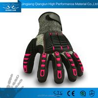 QL manufacturer cut resistant shock absorbing hand gloves