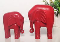 Newest art minds wood crafts indian handicrafts embellished wooden elephant