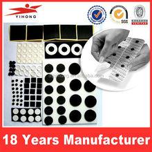 PE foam die cutting shape double sided foam tape/adhesive foam tape die cuttting