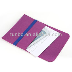 wool felt bag smart cover tablet pc case for ipad mini air notebook
