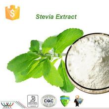 Hot sale natural sweetener stevia sweeteners / stevia extract / stevia powder with Stevia RA 98%