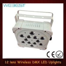 New 12 Lens RGBWA color change 5w 5in1 Led Par Wall Uplight
