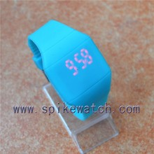 Hot Sale Faceless Silicone Design Your Own LED Watch