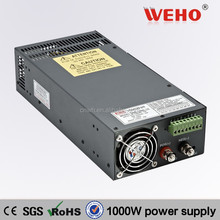CE RoHS approved switching power supply 12v 80a 1000W 12v dc power supply
