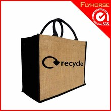 recyclable luxury vegetable eco tote canvas shopping bag