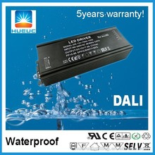 ip67 60w metal case DALI dimmable waterproof led driver with ETL/CE approval