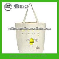 eco cotton shopper bag for promotion