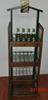 Custom beer can display shelves beer bottle display case