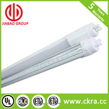 Selling well US markets 270 bean angle LED T8 tube no flicking CE UL CUL and DLC listed