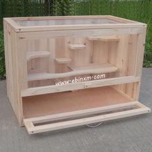 Hamster Woodem Cage