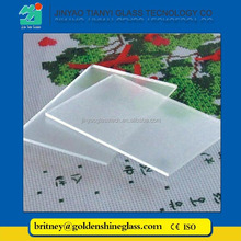Jinyao Wholesale 3.2mm 4mm Low Iron Patterned Glass for Solar Panels