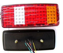 FIVE SQUARE 75LEDS HIGH QUALITY TRUCK REAR LIGHT