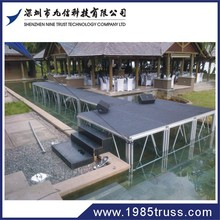 outdoor event folding portable stage lighting equipment for wedding decoration
