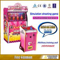 Fast Gunman crazy laser shooting simulator game machine electronic shooting range for sale