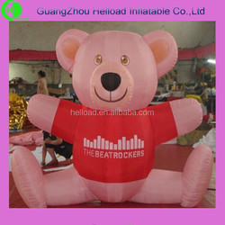 wholesale custom inflatable giant teddy bear for advertising