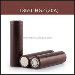 Wholesale HG2 18650 3000mAh BATTERY 3000mah 3.7v 18650 battery RECHARGER