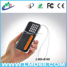 New products dual band radio receivers on china market L-B188