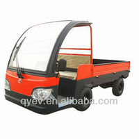 Electric freight cargo truck delivery car with roof 2 Ton for sale