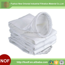 PTFE Dust Filter Bag , High temperature resistant easy to clean dust with smooth surface