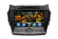 Radio de auto para hyundai santa fe nuevo 2013 con android 4.2 capactive pantalla, gps, bt, ridio, fuction