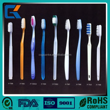 Diapopsable Hotel Toothbrush and Toothpaste inside with nylon PP handle/Travel SPA Airlplane Toothbrush