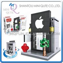 Mini Qute HSANHE Kawaii phone retail store Shop kids diamond nano plastic building blocks model brick educational toy NO.6405